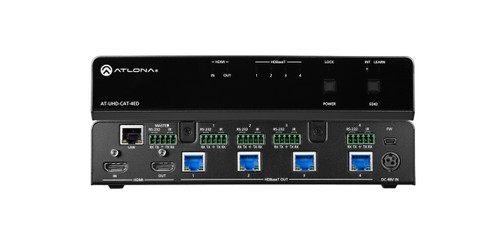 Atlona 4K UHD 4-Output HDMI to HDBaseT Extended Distance Distribution Amplifier (100m)