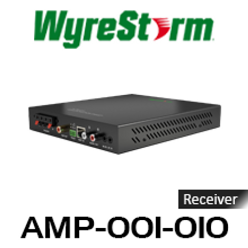 WyreStorm HDBaseT Receiver with Integrated 2.1 Audio Amplifier Kit (70m)