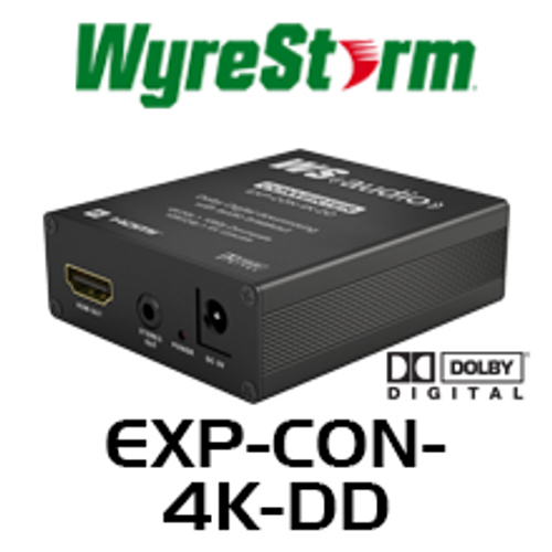 WyreStorm Express Ultra HD 4K Downscaler & UD Upscaler with Dolby Downmix