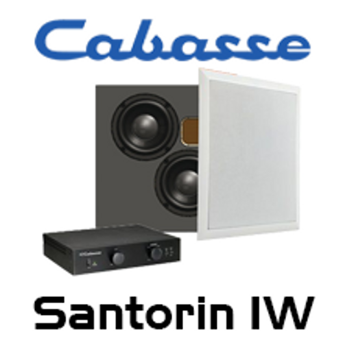 """Cabasse Santorin IW Dual 6.5"""" In-Wall Subwoofer System"""