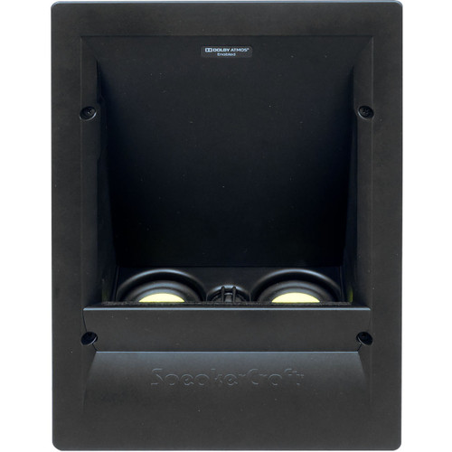 SpeakerCraft AIM Series 2 ATX100 Dolby Atmos Enabled In-Wall Height Speakers (Pair)