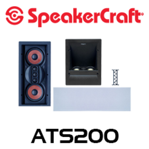 SpeakerCraft AIM ATS200 Series 2 Dolby Atmos Enabled In-Wall Speaker System
