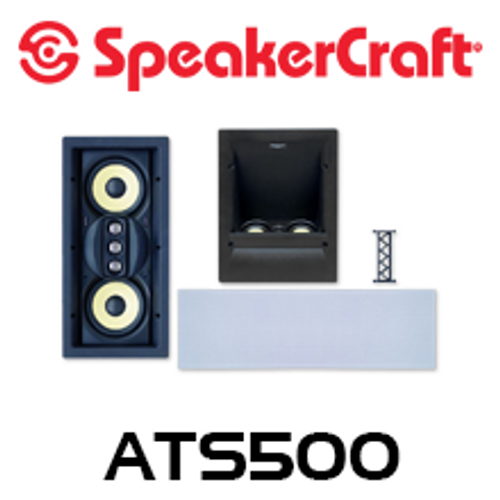 SpeakerCraft AIM ATS500 Series 2 Dolby Atmos Enabled In-Wall Speaker System