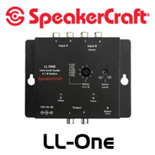 SpeakerCraft LL-1 Audio Line-Level Stereo A/B Switcher