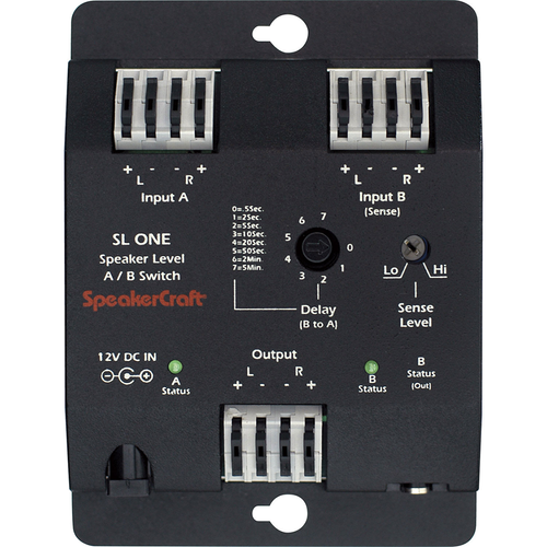 SpeakerCraft SL-1 Speaker Level A/B Switcher