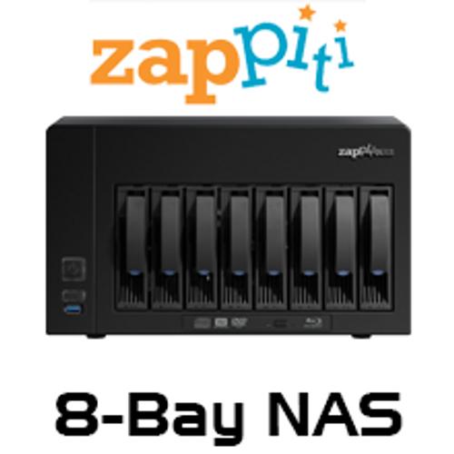 Zappiti 8-Bay NAS 8S Enclosure With RIP Function