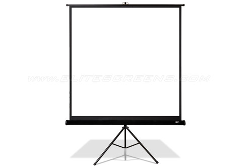"Elite Screens Tripod Pro MaxWhite 1:1 Portable Projection Screens (85 - 119"")"