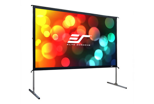 "Elite Screens Yard Master 2 16:9 Portable Outdoor Front/Rear Projection Screens (110 - 135"")"