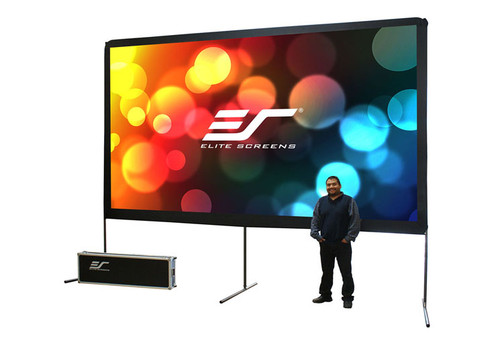 "Elite Screens Yard Master 16:9 Portable Outdoor Projection Screens (150 - 200"")"