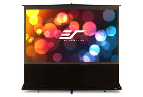 "Elite Screens ezCinema Floor Pull-Up Portable Projection Screens (60 - 150"")"