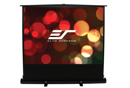 "Elite Screens ezCinema Plus Floor Pull-Up Portable Projection Screens (60 - 100"")"