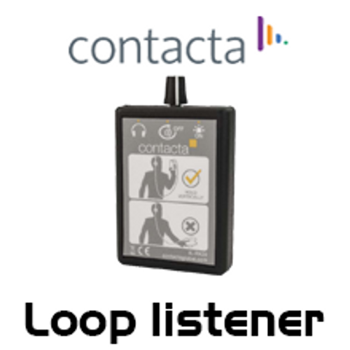 Contacta Loop Listener  With Headphones
