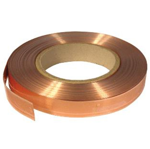 Contacta 100m Roll Copper Tape (5 / 12.5 / 25mm wide)