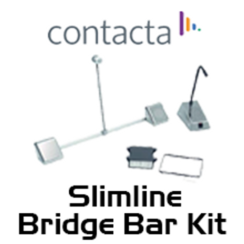 Contacta Slimline Stainless Steel Bridge Bar Speech System