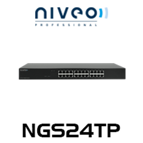 Niveo NGS24TP 24-Port Gigabit Ethernet Switch