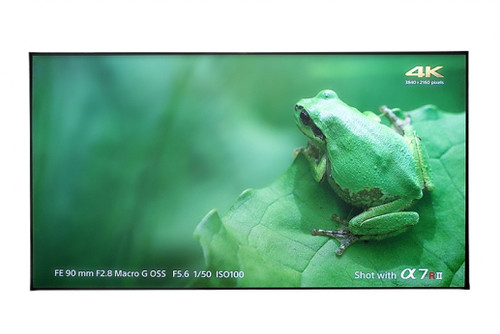 "Elite Screens Aeon CLR 4K Edge Free 16:9 Fixed Frame Projection Screen For UST Projectors (100"", 120"")"