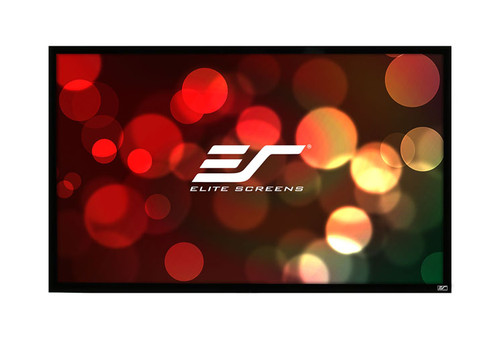 "Elite Screens ezFrame Acoustic4K 16:9 Fixed Frame Rear Projection Screens (84-150"")"