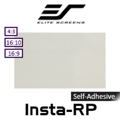 "Elite Screens Insta-RP Self-Adhesive Optical Rear Projection Film (68-121"")"