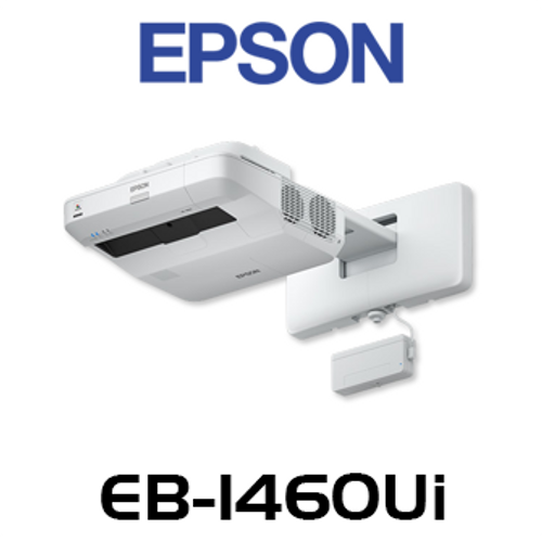Epson EB-1460Ui 4400 Lumen WUXGA Interactive Finger Touch Ultra Short Throw Projector