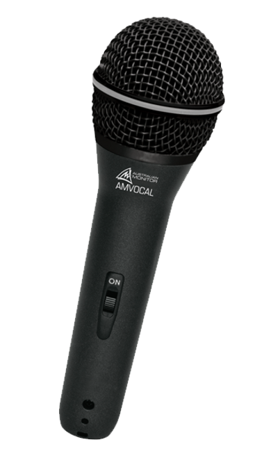 Australian Monitor Dynamic Supercardioid Vocal Microphone (3P XLR)