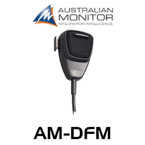 Australian Monitor AMDFM Dynamic NC Fist Microphone With PTT Switch