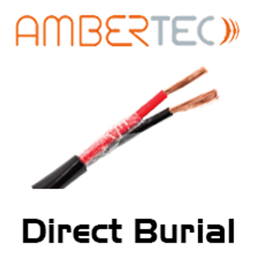 AmberTec Direct Burial 14 AWG 2-Core (Gel Filled SCP) - 150m