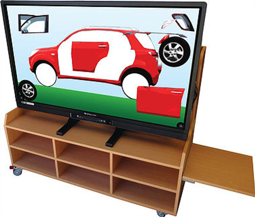"AstralVision AVSK 55"" Full HD Early Learning Interactive Display with Touch Integration"