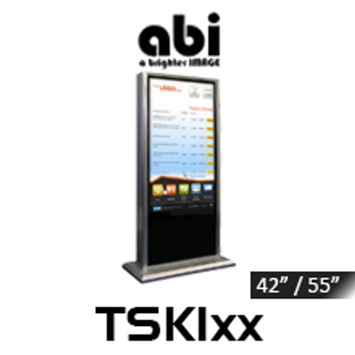 "ABI 42"" & 55"" Portrait Full HD Interactive IR Touchscreen Kiosk"