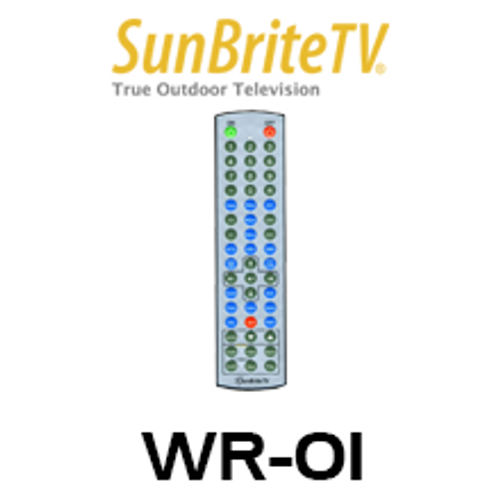 SunBriteTV WR01 Weather-Proof Standard TV Remote Control