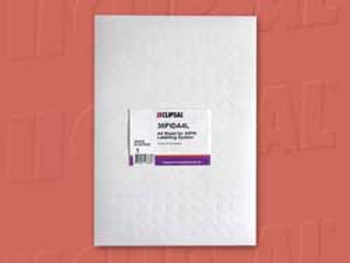 Clipsal Label sheets to suit LH-30PID - 10 x A4 packet, - White (non-adhesive)
