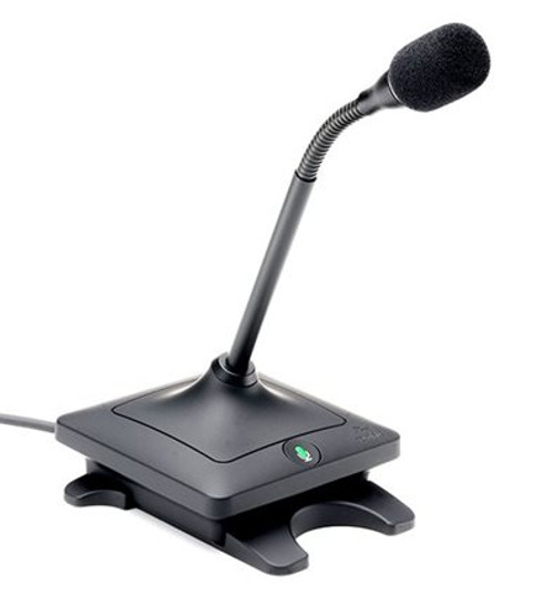 6 inch Gooseneck Elite™ Wired Microphone in Black