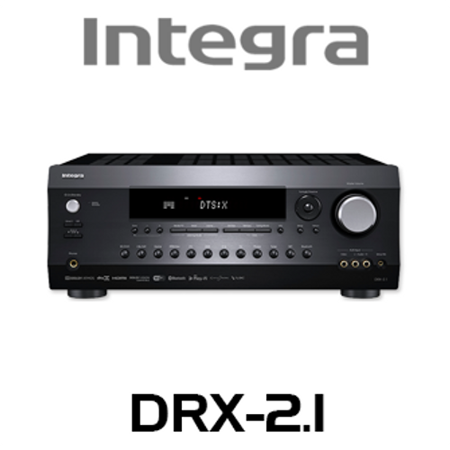 Integra DRX-2.1 7.2-Ch 4K HDR DTS:X & Dolby Atmos Network AV Receiver