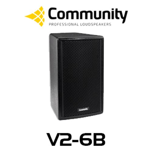 """Community Veris V2-6 6.5"""" Compact Full Range Loudspeaker (Each)"""