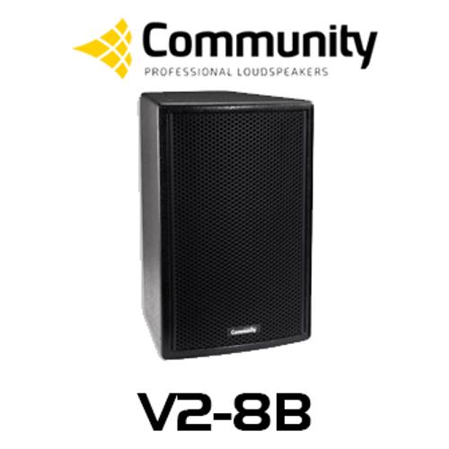 """Community Veris V2-8 8"""" Compact Full Range Loudspeaker (Each)"""