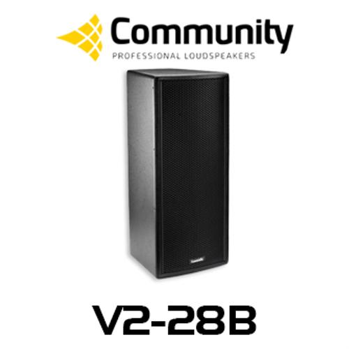 "Community Veris V2-28 Dual 8"" Compact Full Range Loudspeaker (Each)"