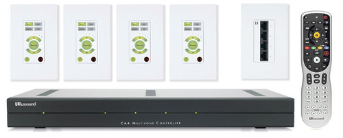Russound CA4-KT1 4 Zones Multiroom Controller Kit With Keypad