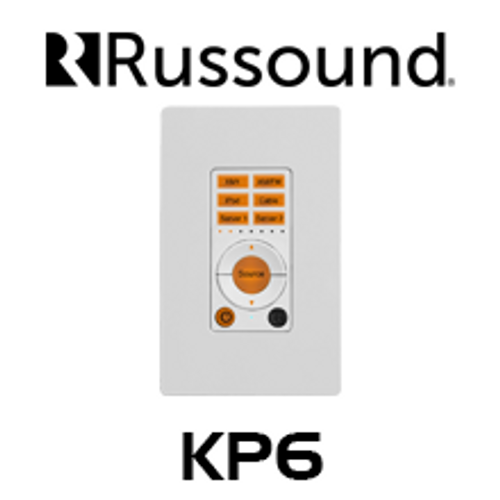 Russound KP6 System Keypad For CAA66 Multiroom System