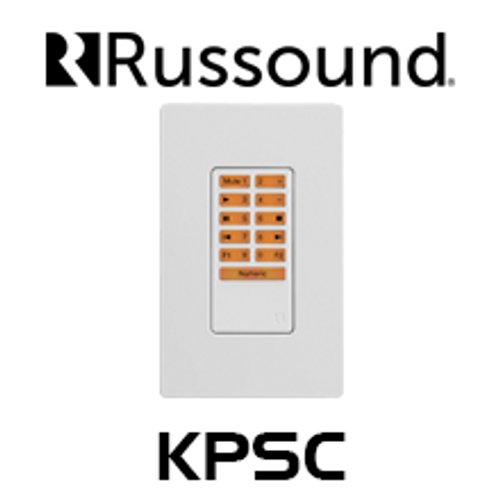 Russound KPSC Optional Source Control Keypad