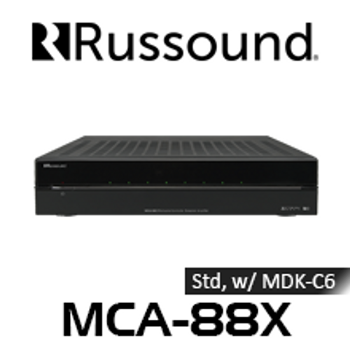 Russound MCA-88X 8-Source 8 Zones Controller Amplifier Streamer