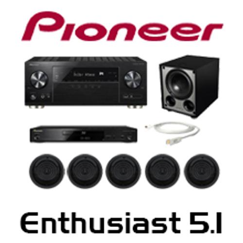 Pioneer VSX-932 Enthusiast 5.1 In-Ceiling Kit