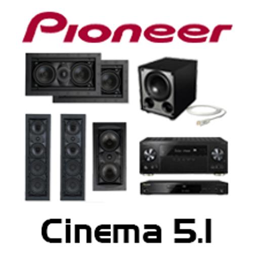 Pioneer VSX-LX302 Cinema 5.1 In-Wall Kit