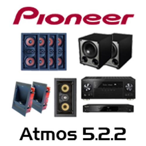 Pioneer VSX-LX302 Basic Atmos 5.2.2 In-Wall Kit