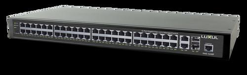 Luxul XMS-5248P 52-Port Gigabit PoE+ L2/L3 Managed Switch