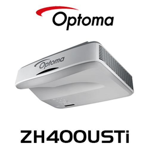 Optoma ZH400USTi Full HD 4000 Lumens Interactive Ultra Short Throw Laser Phosphor DLP Projector