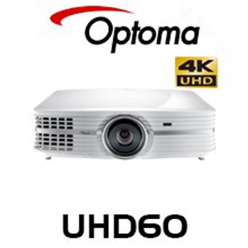 Optoma UHD65 2200 Lumen 4K UHD HDR DLP Projector | AV Australia Online