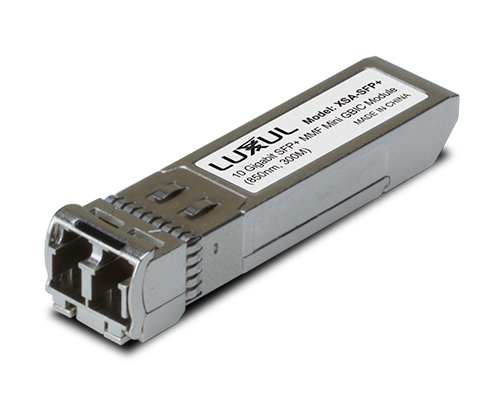 Luxul XSA-SFP10G 10 Gigabit SFP+ Multi-Mode Mini Gbic Module