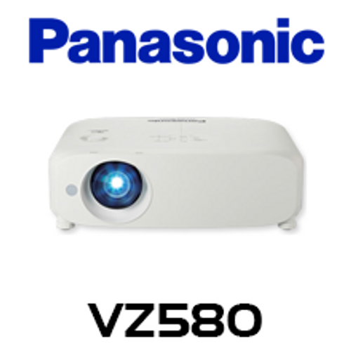 Panasonic PT-VZ580 WUXGA 5000 Lumens Portable LCD Projector