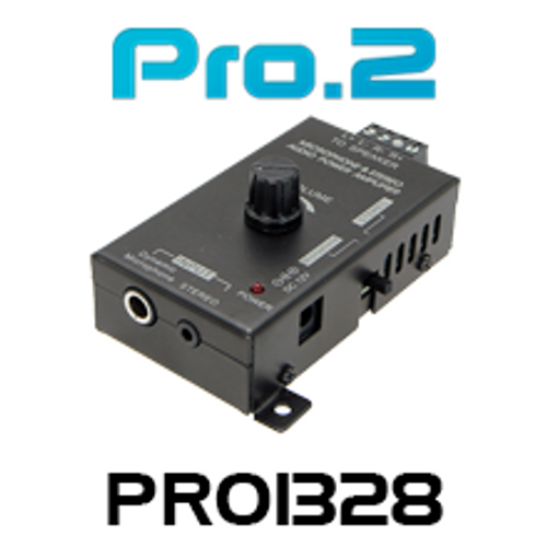 Pro.2 PRO1328 Stereo Audio Power Amplifier