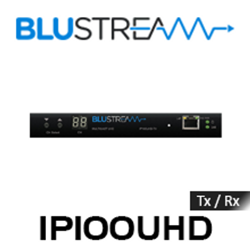 BluStream IP100UHD IP Multicast 4K UHD Video Over 1GB Network