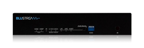 BluStream RX70AMP 4K HDBaseT Receiver With Integrated Audio Amplifier (up to 40m)
